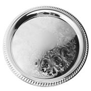 Whitehill - Silver Plated Gadroon Etched Tray 36cm