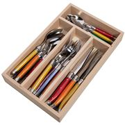 Laguiole - Debutante Multicoloured Cutlery Set 24pce