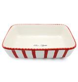 Robert Gordon - Le Chef Red Stripes Rectangular Baking Dish