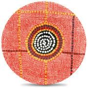 Alperstein - Aboriginal Art Debbie Brown Plate