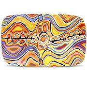 Alperstein - Aboriginal Art Judy Watson Long Plate