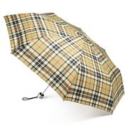 Clifton - AluLight MiniMaxi Umbrella Thomson Tartan Camel