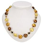 Antica Murrina - Frida Gold Amber Murano Necklace