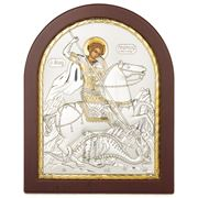 Clarte Icon - St George in Wooden Frame 20x25cm