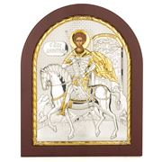 Clarte Icon - St Demetrios Gold in Wooden Frame 20x25cm