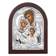 Clarte Icon - Holy Family in Wooden Frame 25x20cm