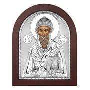 Clarte Icon - St Spyridon in Wooden Frame 25x20cm