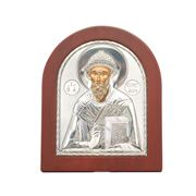 Clarte Icon - St Spyridon Gold 15x19cm