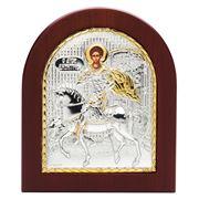 Clarte Icon - St Demetrios Gold 11x13cm