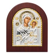 Clarte Icon - Holy Virgin Mary Lady Healer Gold 11x13cm