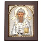 Clarte Icon - St Spyridon Gold 10.5x12.5cm