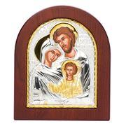Clarte Icon - Holy Family 10.5x13cm