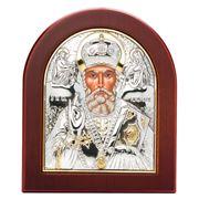 Clarte Icon - St Nicholas 10.5x13cm