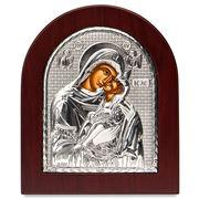 Clarte Icon - Holy Virgin Mary Kissing Lovingly 13x11cm