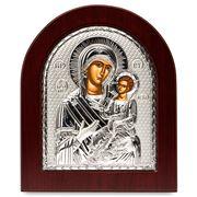 Clarte Icon - Silver Axion Virgin Mary Lady Healer 13x11cm