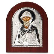 Clarte Icon - St Spyridon 13x11cm