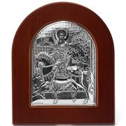 Clarte Icon - Silver Axion St Demetrios Large