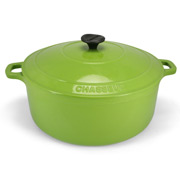 Chasseur - Apple Green Round French Oven 28cm/6.3L