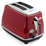 DeLonghi - Icona Toaster Red Two Slice