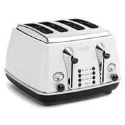 DeLonghi - Icona Toaster White Four Slice