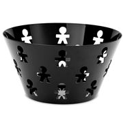 Alessi - Girotondo Boy Black Bowl 23cm