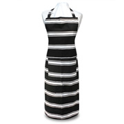 Ladelle - Black & White Butcher Stripe Apron