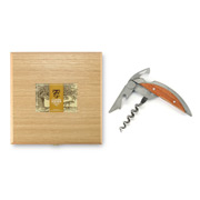 Claude Dozorme - Haute Cuisine Corkscrew Exotic Wood