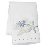 Pilbeam - Embroidered Seaside Hand Towel