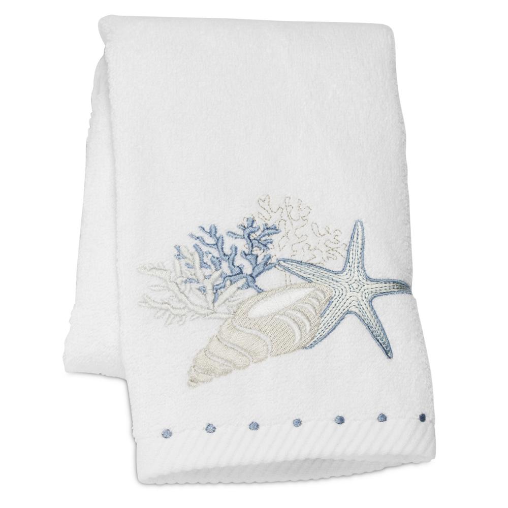 Pilbeam - Embroidered Seaside Hand Towel