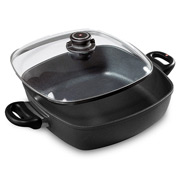 Swiss Diamond - Square Casserole with Lid 28cm