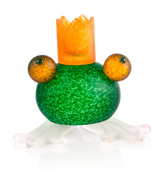 Borowski - Frog Green Candlestick