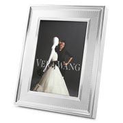 Wedgwood - Vera Wang Grosgrain Silver Frame 12x17cm