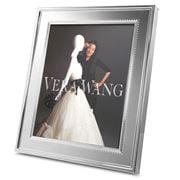 Wedgwood Vera - Wang Grosgrain Silver Plated Frame 20x25cm