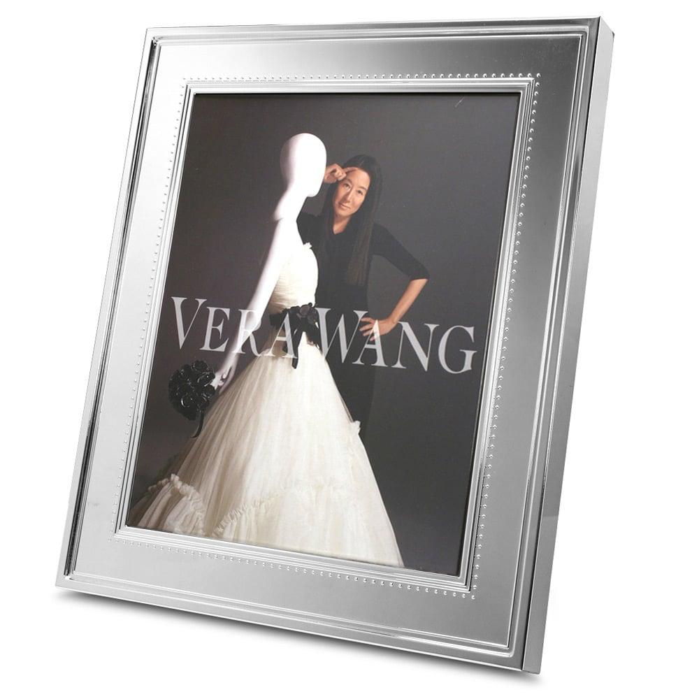 Wedgwood Vera Wang Grosgrain Silver Plated Frame 20x25cm Peters