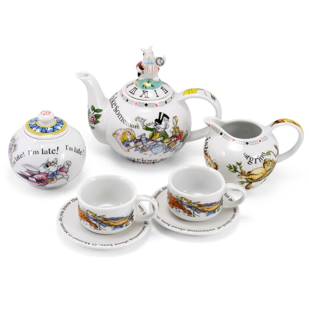 Cardew Design - Alice In Wonderland Miniature Tea Set