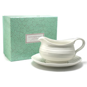 Portmeirion - Sophie Conran Gravy Boat & Stand Set 2pce