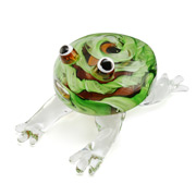 Zibo - Frog Clear Legs Ornament