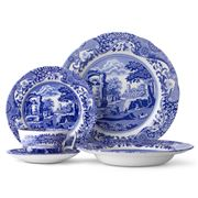 Spode - Blue Italian Dinner Set 20pce