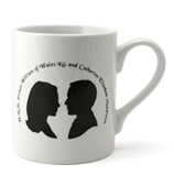 McLaggan Smith - Royal Wedding Mug with Silhouette