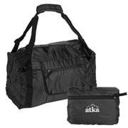 Atka - Black Medium Expandable Duffle Bag
