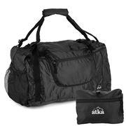 Atka - Black Large Expandable Duffle Bag