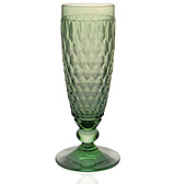 V&B - Boston Champagne Flute Green