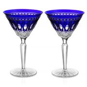 Waterford - Clarendon Cobalt Martini Set 2pce