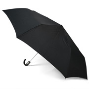 Clifton - Automatic Umbrella with Leatherette Handle
