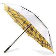 Clifton - Camel Thompson Tartan Vented Golf Umbrella