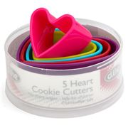 D Line - Heart Cookie Cutter Set 5pce