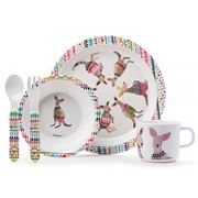 Ashdene - Cooee Kangaroo Kids Mealtime Set 5pce