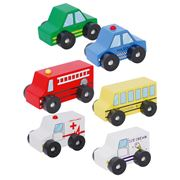 Discoveroo - Car Set 6pce