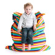 Crashmat - Candy Stripe Kids' Bean Bag