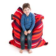 Crashmat - Tangerine Dream Stripe Kids' Bean Bag